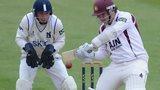 Rob Newton batting against Warwickshire