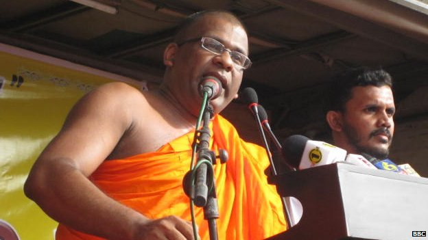 Sri Lankan BBS Secretary-General Galaboda Aththe Gnanasara Thero, 15 June 2014