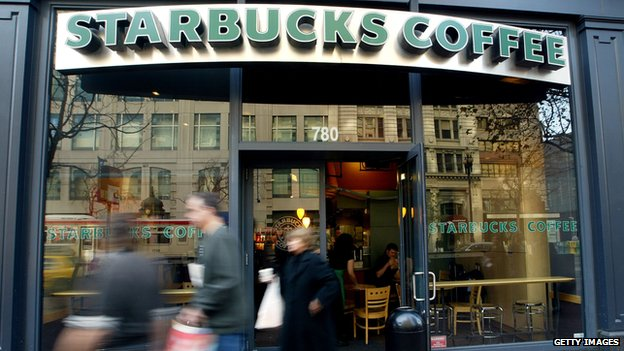 Starbucks front store