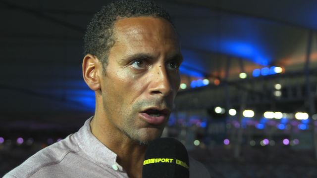 Rio Ferdinand wants Wayne Rooney to play up front