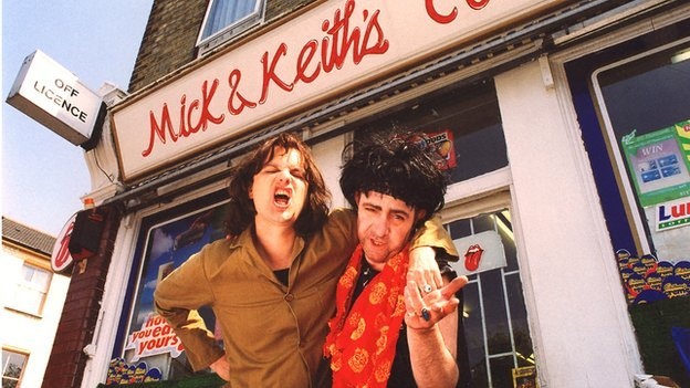 Mick and Keith from Stella Street