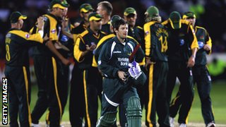 Notts lost to Leicestershire in the 2006 final