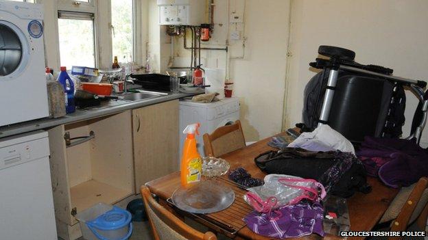 Filthy kitchen