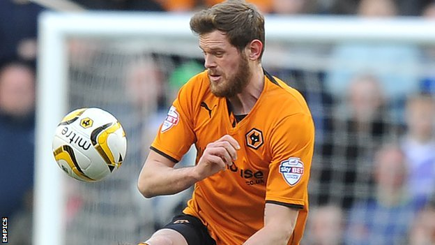 Wolves centre-half Richard Stearman