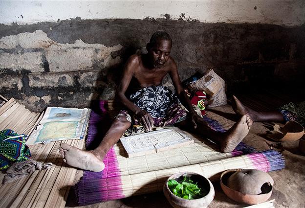 The oracle in Ouidah