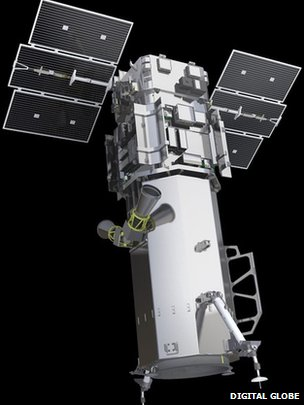 Worldview-3 satellite