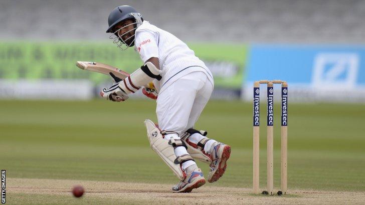 Sri Lanka's Kaushal Silva