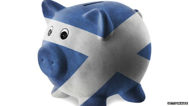 saltire piggy bank