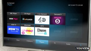 YouView promotional video