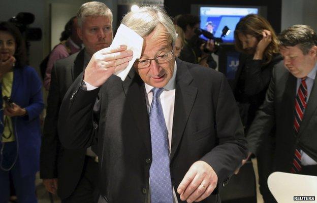 Jean-Claude Juncker file pic 26 May
