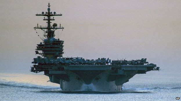 USS George HW Bush (file photo)