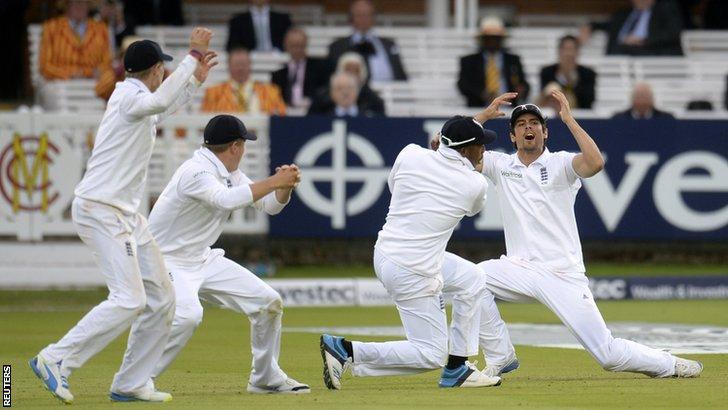 England's Alastair Cook