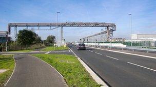 steel road