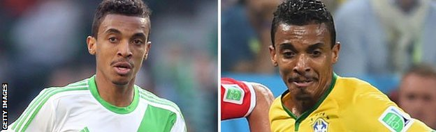 Luiz Gustavo of Wolfsburg and Brazil