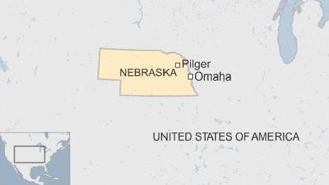 Map of Pilger, Nebraska