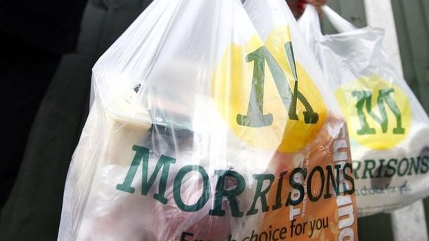 Morrison's carrier bag