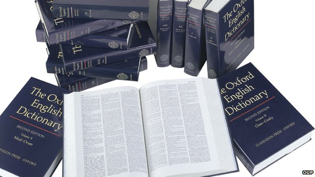 Oxford English Dictionary second edition, 1989