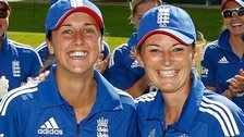 Jenny Gunn and Charlotte Edwards