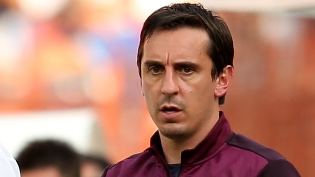 England assistant coach Gary Neville