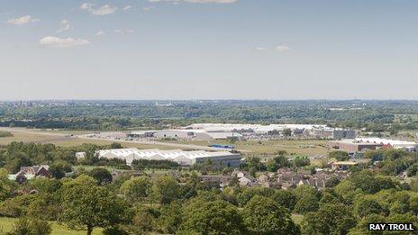 BAE Systems' Samlesbury site