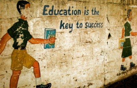 Mural in school