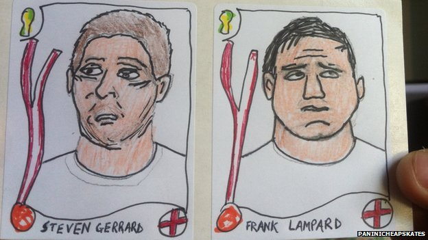 Steven Gerard and Frank Lampard