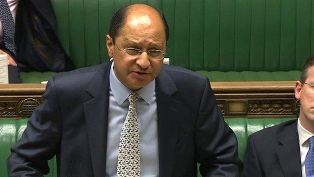 Justice Minister Shailesh Vara