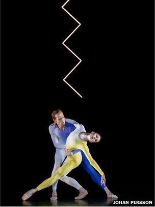 Royal Ballet dancers performing Tetractys