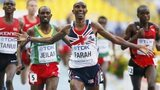 Distance runner Mo Farah