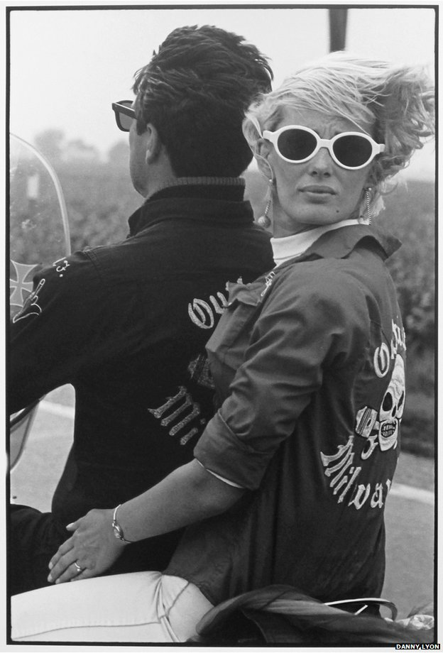 Memorial day run, Milwaukee.  (c)Danny Lyon Courtesy of Etherton Gallery (USA) & ATLAS Gallery London
