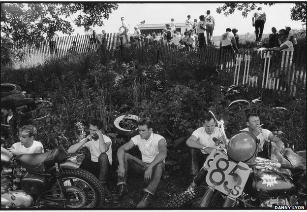 Racers, McHenry, Illinois (2) (c) Danny Lyon Courtesy of Etherton Gallery (USA) & ATLAS Gallery London