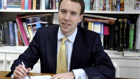 Skills and Enterprise Minister Matthew Hancock