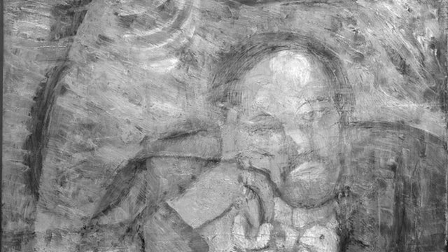 The painting found underneath Picasso's The Blue Room