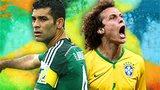Rafa Marquez, David Luiz