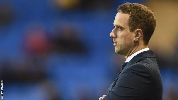England Women's football team head coach Mark Sampson