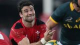 Mike Phillips in action for Wales in the first Test against the Springboks