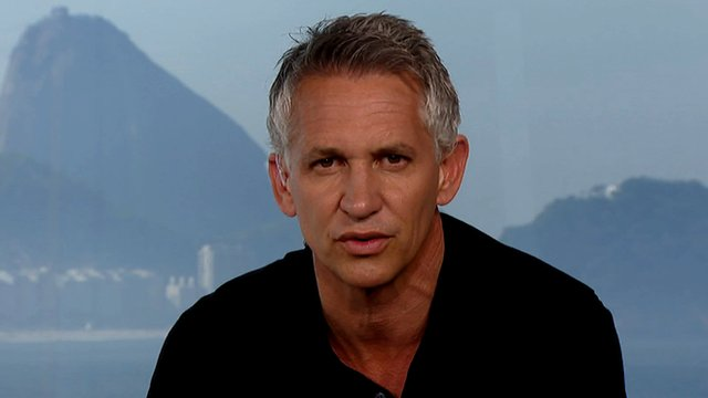 Gary Lineker accesses England's possible progress at the 2014 World Cup