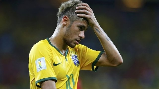 Mexico's defence kept Neymar and co at bay