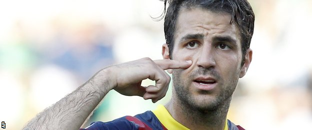 Former Arsenal midfielder Cesc Fabregas is back in the Premier League with Chelsea
