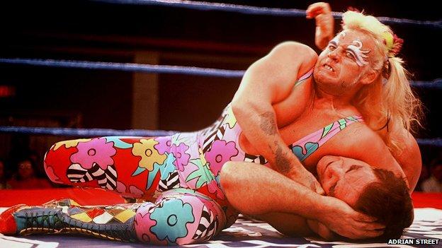 Adrian Street wrestling