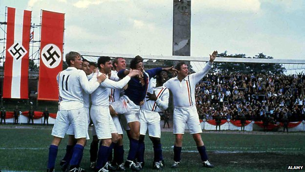 Scene from Escape to Victory