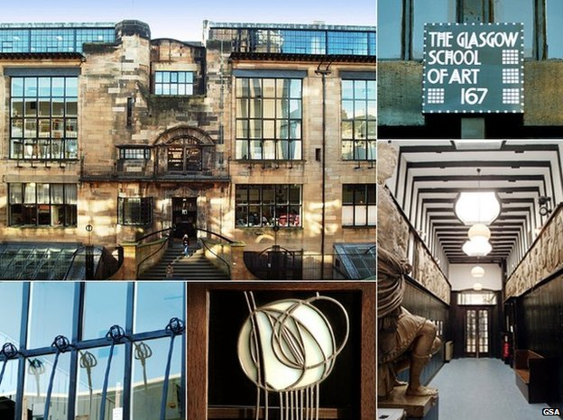 Mackintosh building, GSA