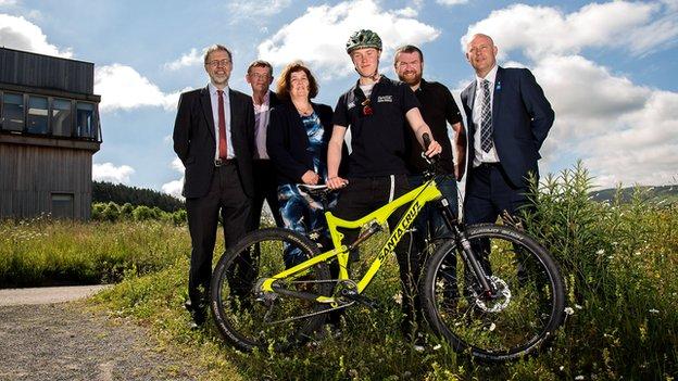 Mountain bike launch