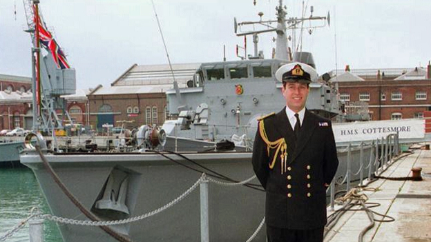 Prince Andrew, 1996