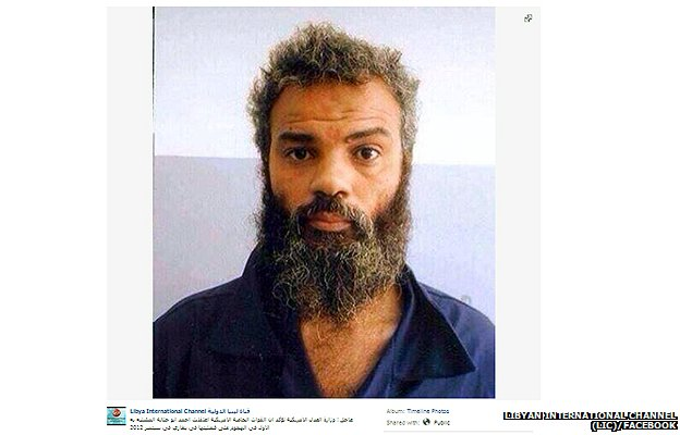 Photo of Ahmed Abu Khattalah posted on the Facebook page of Libyan International Channel (LIC)