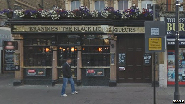 Black Lion pub in Bayswater