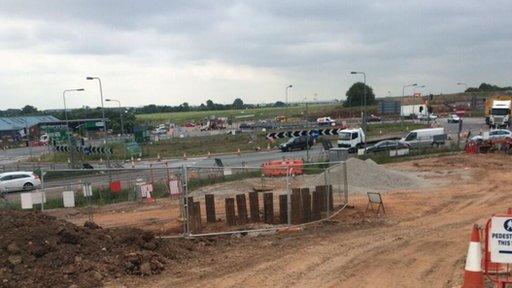 A45 looking towards Birmingham