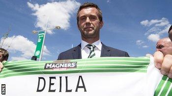Celtic manager Ronny Deila