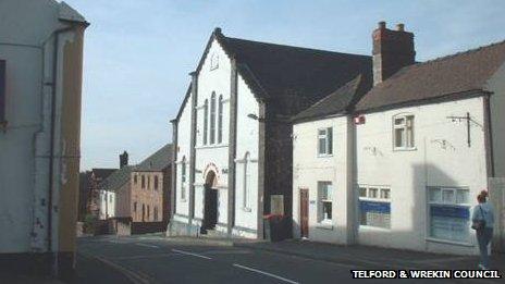 Dawley Town Hall. Photo: Telford & Wrekin Council