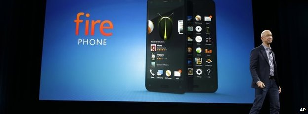 Jeff Bezos launches Fire phone